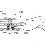 구글이 WIPO에 특허 출원한 손목 부착형 웨어러블 기기 모습. (출처 = WIPO)