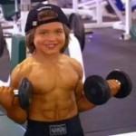 운동을 하고 있는 리처드의 모습.