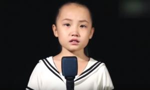 노래 부르는 여자아이