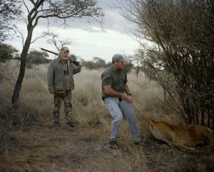 사냥성공한 사냥꾼들