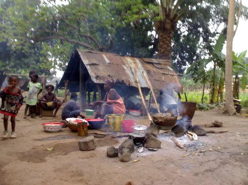 아프리카 부유층들의 식습관