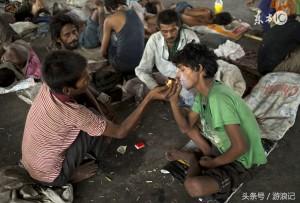 인도의 거지들