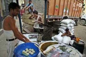 인도의 길거리 음식