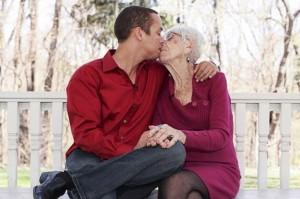 32세와 91세의 결혼