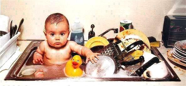 설거지 하다가...