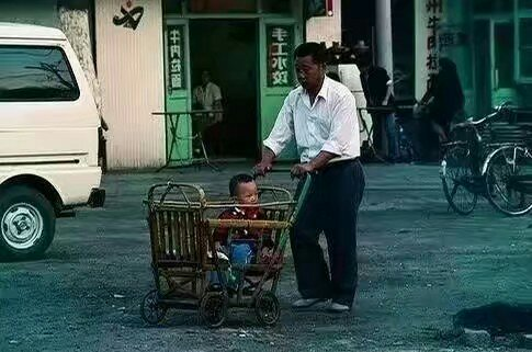 90년대 중국의 리어카