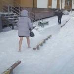 러시아의 겨울 패션