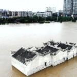 中 노아의 방주로 불리는 양쯔강의 한 사원