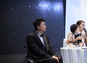 ▲ 강원래-김송 부부, 이미지 출처 - 유튜브 캡쳐