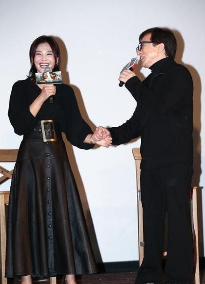 성룡의 뜨거운 입맞춤