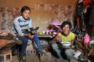 중국 젊은 부부