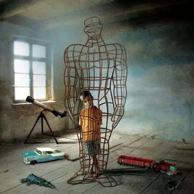 대부분 아이들은 부모의 이상이라는 모형에 갇혀서 살아간다. 자라나면 부모가 원하는 인간이 된다.
