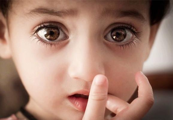 중국 아이의 눈 제일 예쁜 눈