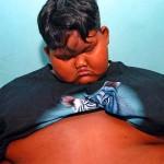 인도에서 가장 뚱뚱한 10살 아이