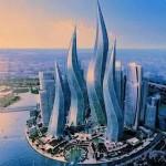 실제 두바이의 건물