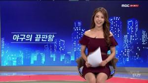 ▲ LA다저스의 류현진 투수와 결혼할 예정인 배지현 아나운서