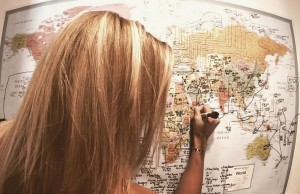 27세 15주만에 181개국을 방문