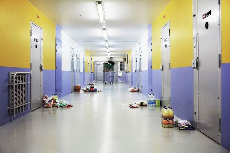 독일 죄수들의 실제생활