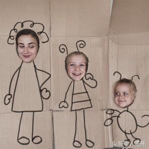귀여운 세 모녀