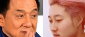 ▲ 성룡(좌)과 우줘린(우)