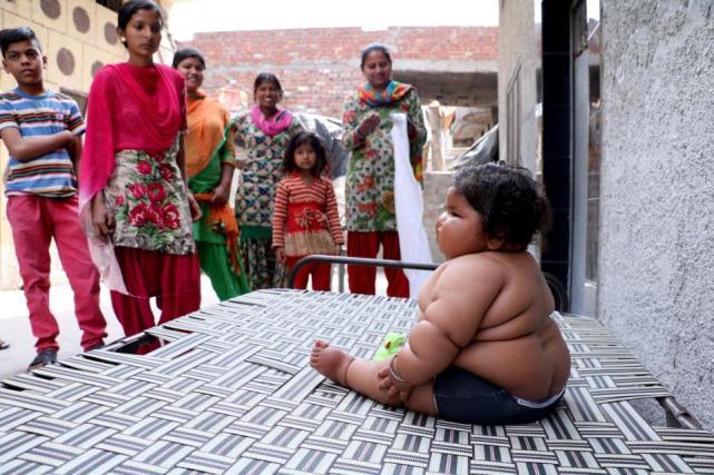 인도 아기 '하트'