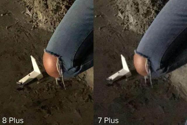 아이폰8 플러스와 아이폰 7 플러스의 카메라 성능 비교