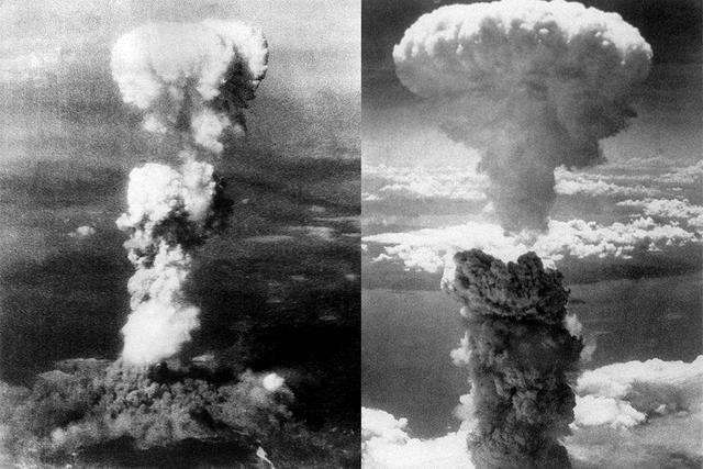 2차 세계대전 당시 일본에 원자탄 투하
