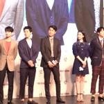 ▲ 강동원과 한효주가 영화 '인랑' 레드카펫 행사에 참여했다.