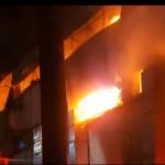 부천의 한 공장에서 화재가 발생했지만 소방당국에 의해 2시간 만에 진압됐다