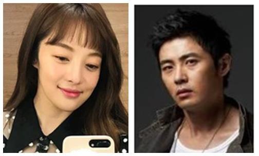 황보라(좌)와 차현우(우)의 모습
