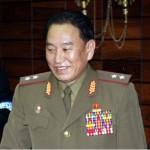 ▲ 김영철 북한 부위원장이 천안함 폭침 셀프 보고에 대한 우리 기자단의 질문에 아무런 대답도 하지 않았다.