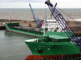 ▲ 북한산 석탄을 실은 선박들이 최근까지 한국 항구를 드나든 것으로 파악됐다고 VOA가 보도했다