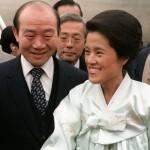 전두환 전 대통령(왼쪽)과 이순자 여사(오른쪽)
