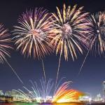 서울불꽃축제 모습. ⓒ한화 제공