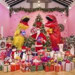 제주허브동산의 크리스마스 포토존. 사진=제주허브동산 제공
