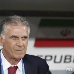 카를로스 케이로스 이란 축구대표팀 감독이 콜롬비아 축구대표팀 감독으로 새롭게 내정됐다.
